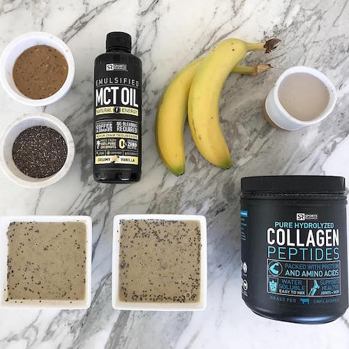 MCT Oil + Collagen Peptides - Sports Research - Certified Paleo - Paleo Foundation