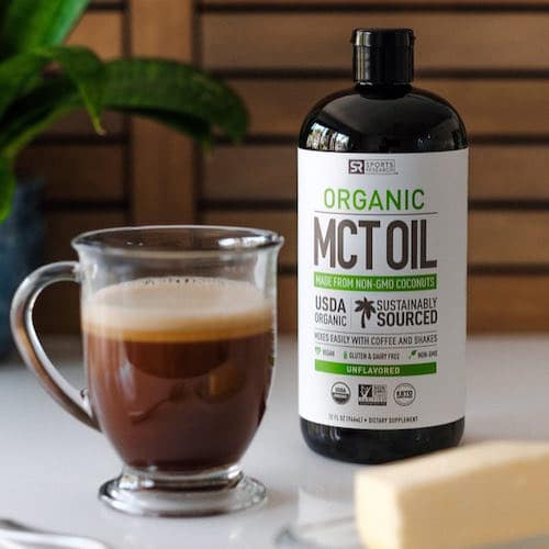 Organic MCT Oil - Sports Research - Certified Paleo, Keto Certified - Paleo Foundation