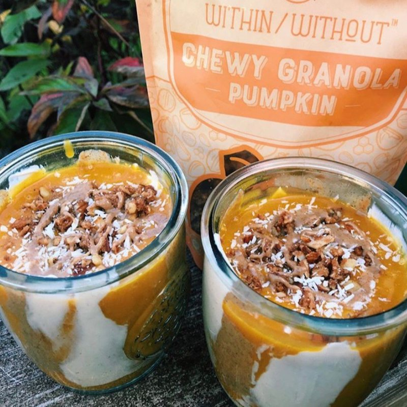Pumpkin Granola - Within:Without - Certified Paleo, Paleo Vegan - Paleo Foundation