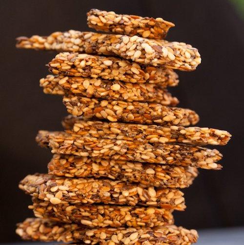 Seedy Crackers 2 - Keep It Real Food CO - Certified Paleo, PaleoVegan - Paleo Foundation
