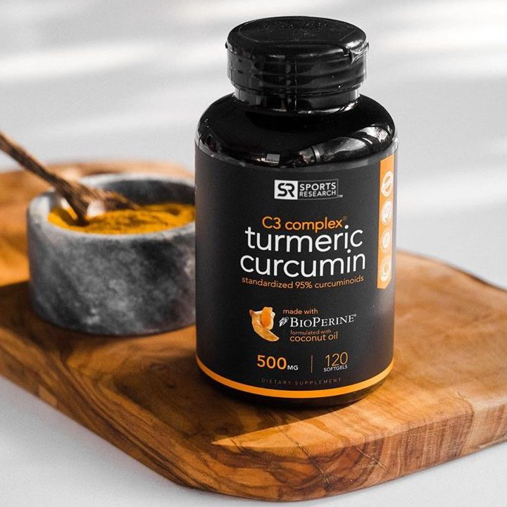 Turmeric Curcumin 2 - Sports Research - Certified Paleo Friendly by the Paleo Foundation