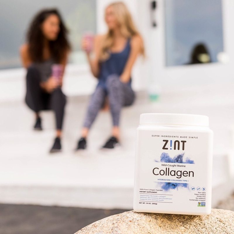 Marine Collagen 3 - Zint Nutrition - KETO Certified, Certified Paleo Friendly by the Paleo Foundation
