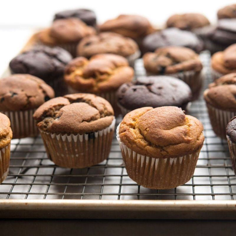Racked Muffins Main - Soozy's Muffins - Certified Paleo - Paleo Foundation