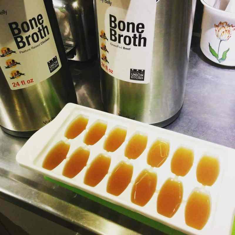 Bone Broth in Tray - Brainy Belly - Certified Paleo - Paleo Foundation