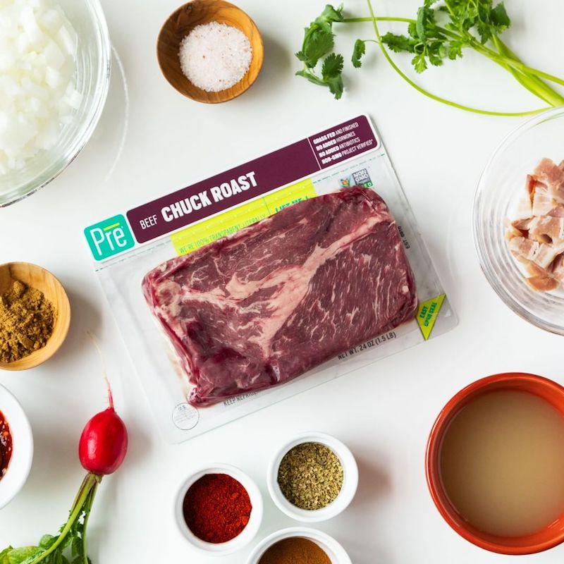 Chuck Roast 24 oz. Beef Roasts - Pre Brands - Certified Paleo, KETO Certified by the Paleo Foundation