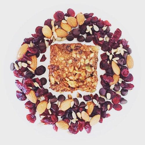 Chocolate Cran Almond Bravo Bars Lifestyled - Nutritious U - Paleo Friendly - Paleo Foundation