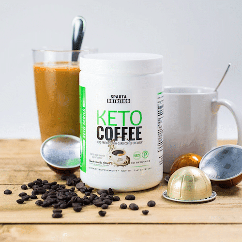 Keto Coffee - Sparta Nutrition - Paleo Friendly, PaleoVegan, KETO Certified - Paleo Foundation