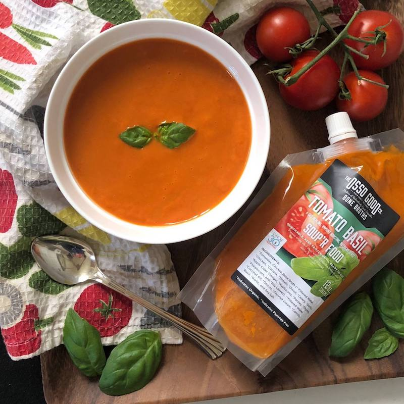 Osso Good Tomato Basil Paleo Soup Certified Paleo Certified Grain Free Gluten Free