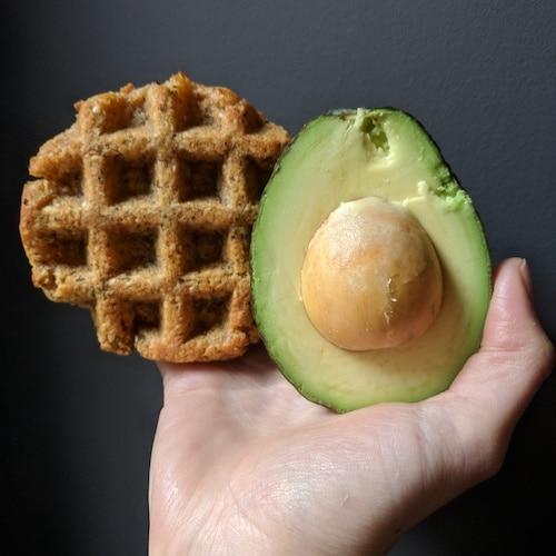 Waffles & Avocado - Swapples - Certified Paleo - Paleo Foundation
