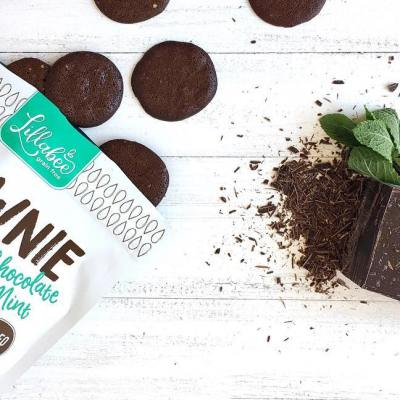 Chocolate Mint Brownie Thins 1 - Lillabee Baking - Paleo Friendly - Paleo Foundation 2