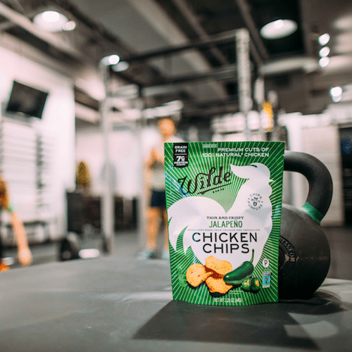 Jalapeno Gym Kettle Bell - Wild Brands Chicken Chips - Certified Paleo - Paleo Foundation
