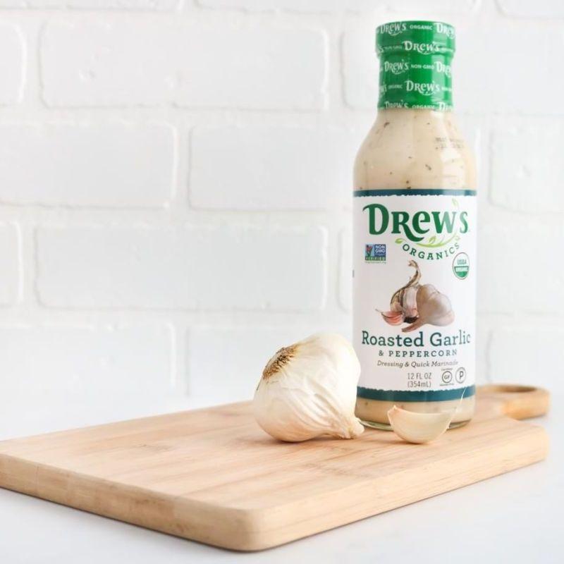 Roasted Garlic Peppercorn - Drew's Organics - Certified Paleo - Paleo Foundation