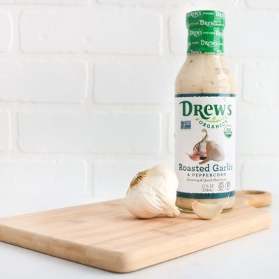Roasted Garlic Peppercorn - Drew's Organics - Certified Paleo - Paleo Foundation