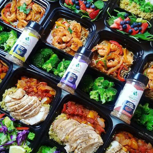 Spices on prep - Eat Clean Meal Prep - Certified Paleo - Paleo Foundation