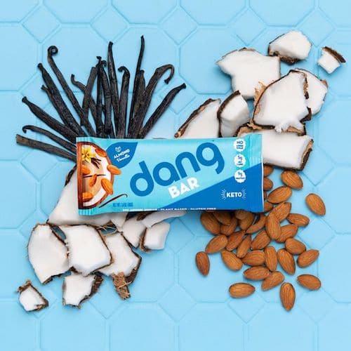 Almond Vanilla Dang Bar - Dang Foods - KETO Certified - Paleo Foundation