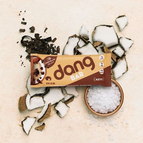 Chocolate Sea Salt Dang Bar - Dang Foods - KETO Certified - Paleo Foundation