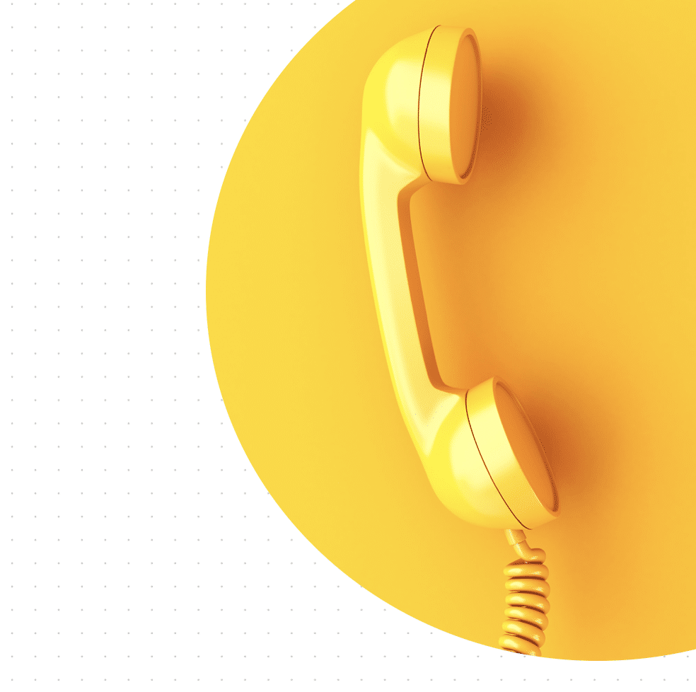 old fashioned yellow phone