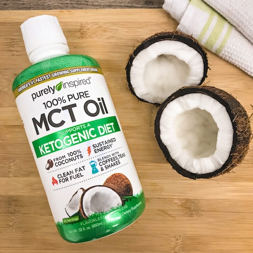 Coconut - Purely Inspired Organic MCT Oil - Iovate - Certified Paleo, KETO Certified - Paleo Foundation