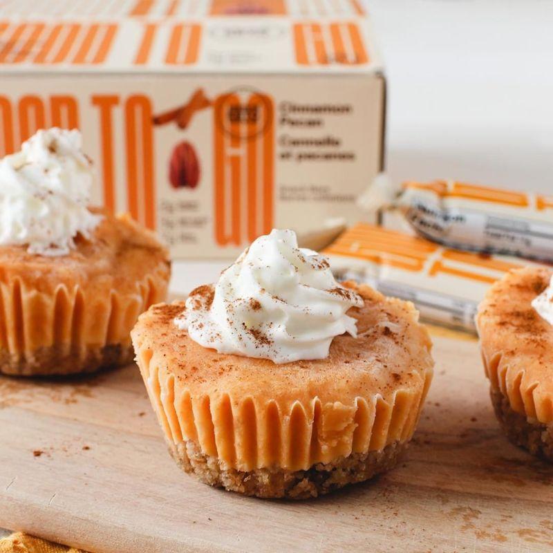 Pumpkin Pie Cheesecake Bites - GoodTo Go Snacks - KETO Certified by the Paleo Foundation