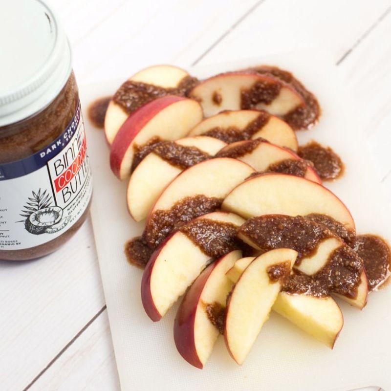 Dark Chocolate & Sea Salt - Binnie's Coconut Butter - Keto Certified - Keto Diet Certified - Paleo Foundation