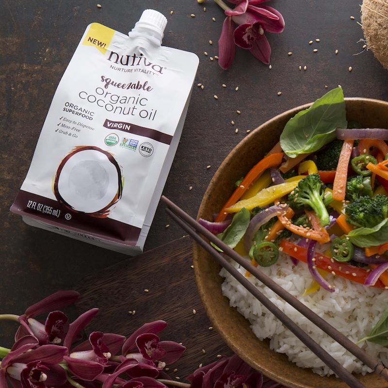 Organic Coconut Oil, Virgin - Nutiva - Certified Paleo, KETO Certified - Paleo Foundation