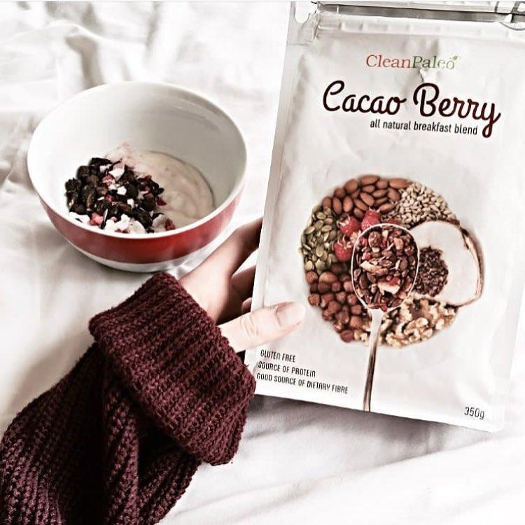 Cacao Berry Crunch - CleanPaleo - Certified Paleo, PaleoVegan - Paleo Foundation