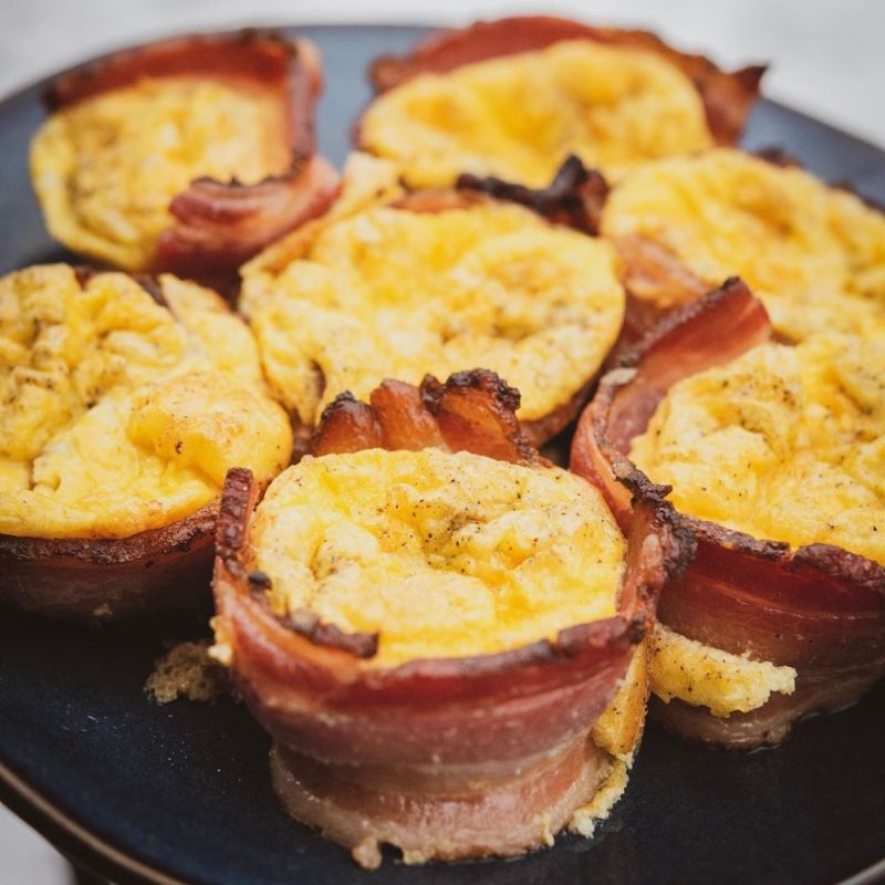 No Sugar Dry-Rub Uncured Bacon & Eggs - Tender Belly - Certified Paleo, KETO Certified - Paleo Foundation