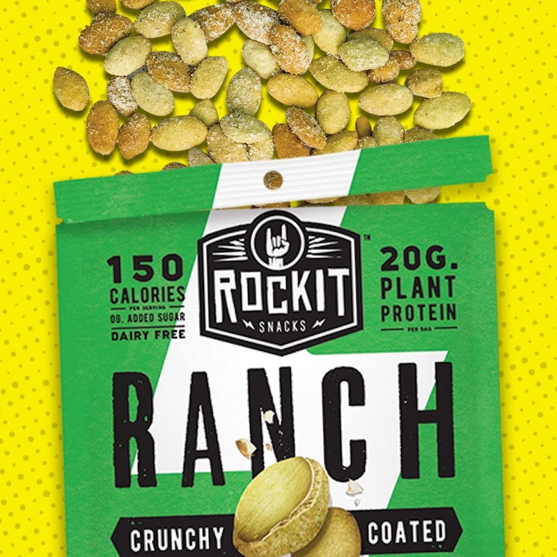 Ranch Pumpkin Seeds - RockIt Snacks - Certified Paleo, KETO Certified, Grain Free:Gluten Free Certified, PaleoVegan - Paleo Foundation