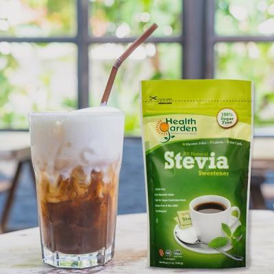 Coffee sweetened with Stevia Sweetener - Health Garden of USA - KETO Certified by the Paleo Foundation