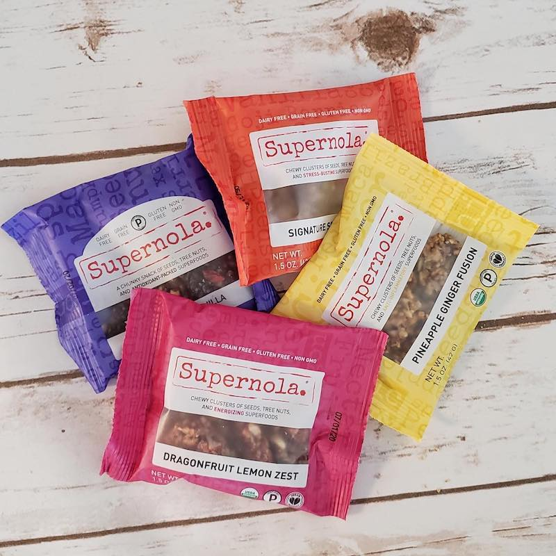 Lineup - Supernola - Evolve Snacking - Certified Paleo by the Paleo Foundation
