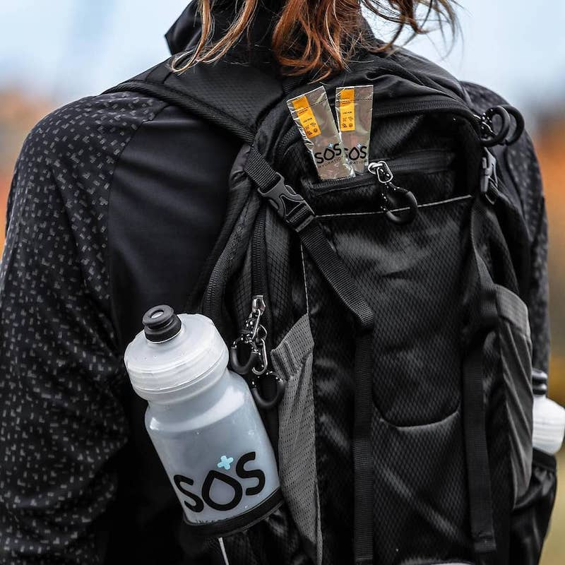 Backpacking - Hydrating Electrolyte Drink Mix - SOS Hydration - KETO Certified by the Paleo Foundation
