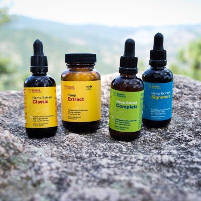 CBD Oil Lineup - Bluebird Botanicals - Certified Paleo, KETO Certified by the Paleo Foundation