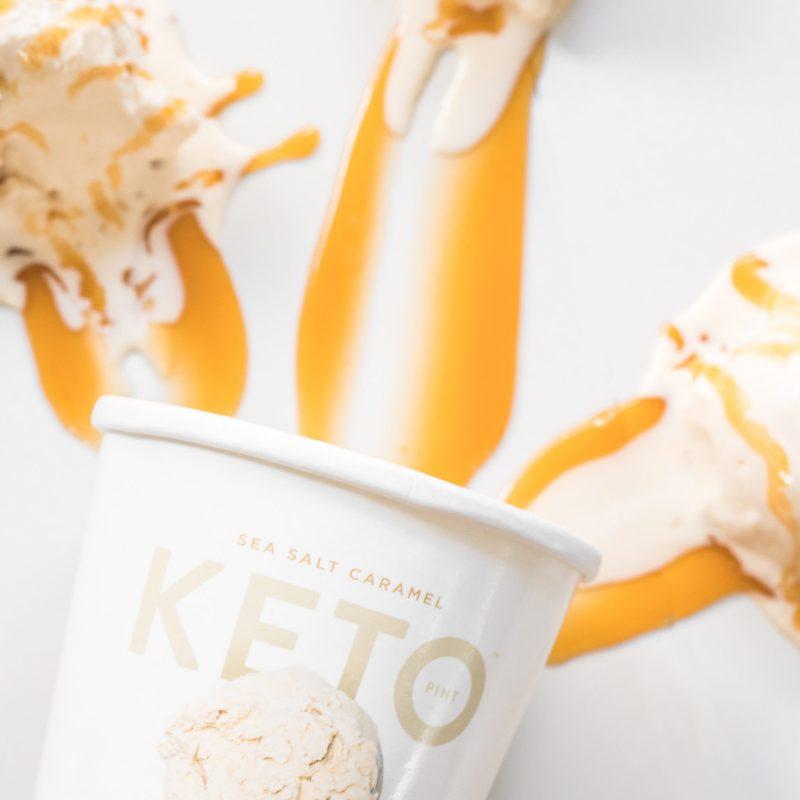 Sea Salt Caramel - Keto Pint - KETO Certified by the Paleo Foundation