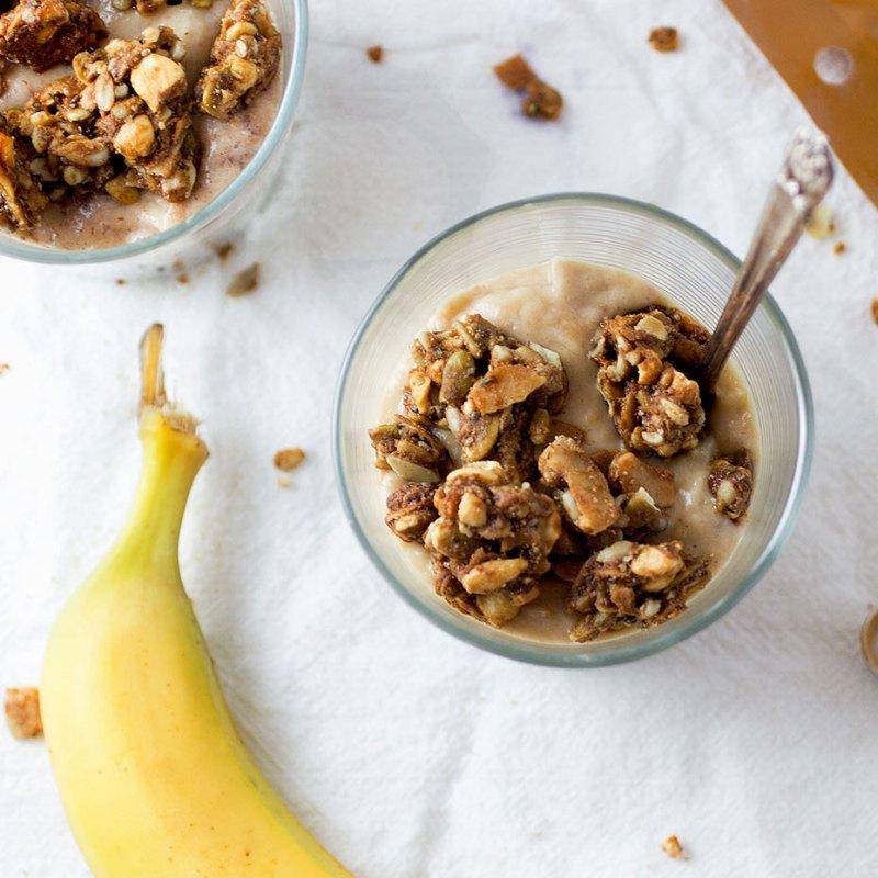 Banana Nut Butter Grain-Free Granola 1 - Purely Elizabeth - Certified Paleo, KETO Certified by the Paleo Foundation