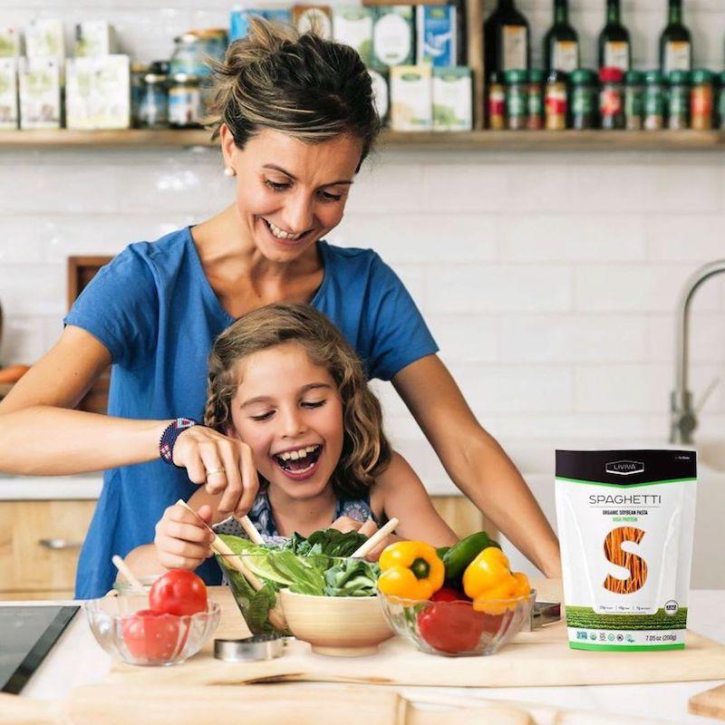 Organic Soybean Spaghetti - Liviva Foods - KETO Certified by the Paleo Foundation