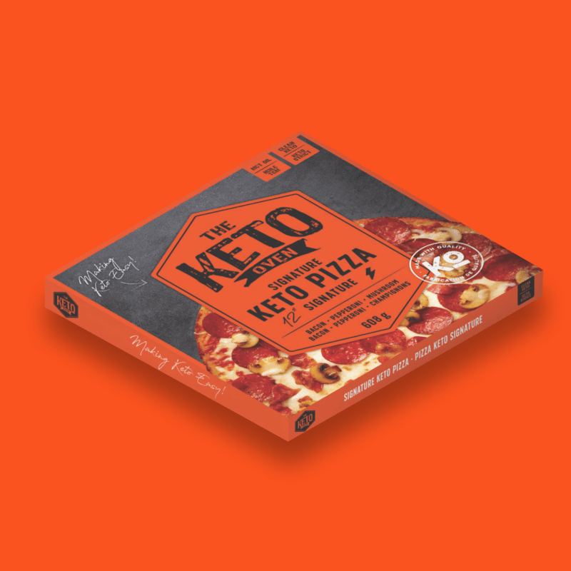 Signature Keto Pizza matched - The Keto Oven - KETO Certified by the Paleo Foundation