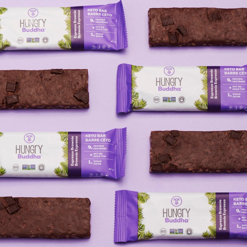 Hungry Buddha Espresso Brownie Keto Bars - KETO Certified by the Paleo Foundation