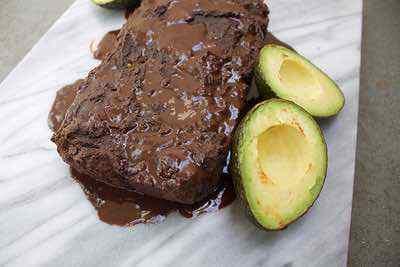 Paleo Chocolate Avocado Bread