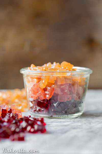 Paleo Fruit Gummies
