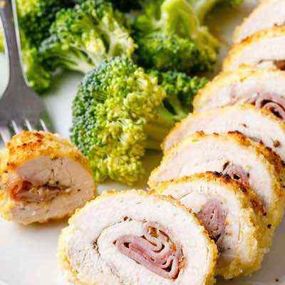 Baked Paleo Chicken Cordon Bleu