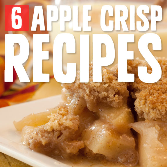 I LOVE apple crisp! I could really eat it everyday. Here are some of my favorite recipes…