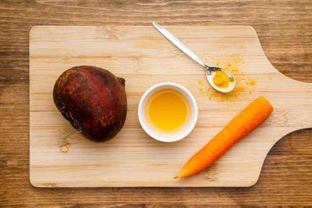 Beet Apple Cider Vinegar Wellness Shot Ingredients