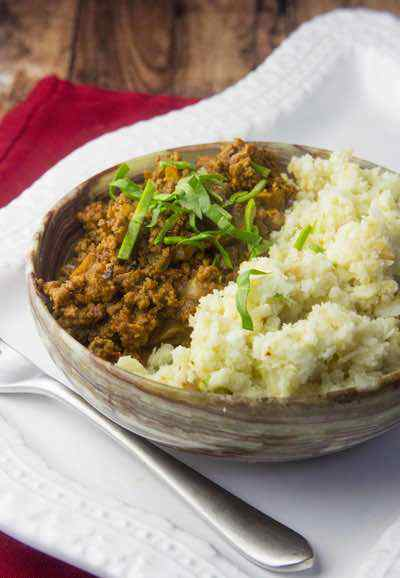 Paleo Ground Beef Korma