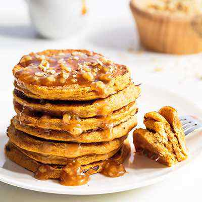 3-Ingredient Paleo Pumpkin Pancakes