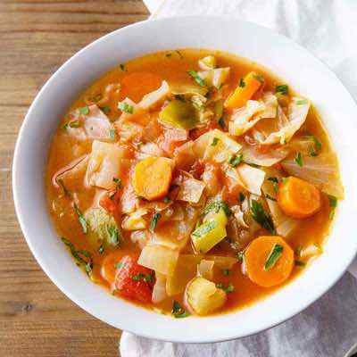 Cabbage Weight Loss Paleo Soup