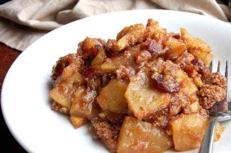 Easy Baked Paleo Apple Crisp