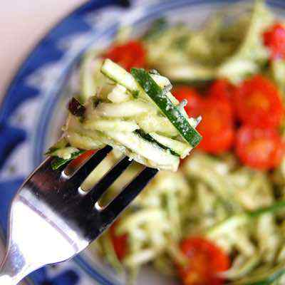 Easy Paleo Pasta Recipe with Zucchini Noodles