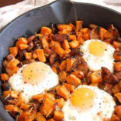Easy Sweet Potato Hash