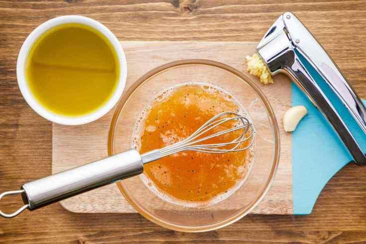 Apple Cider Vinegar Paleo Salad Dressing