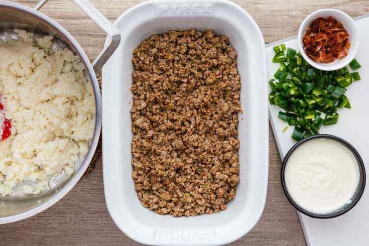 Paleo Stuffed Jalapeno Ground Beef Casserole